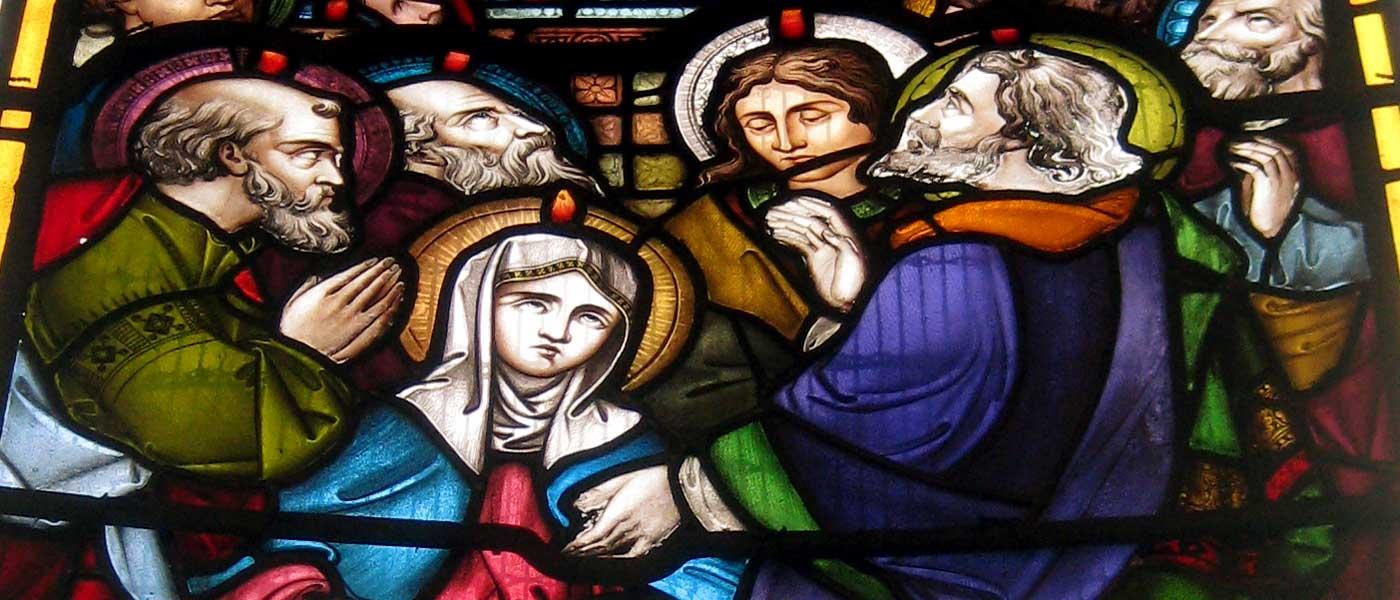 stained-glass - holy trinity gosport