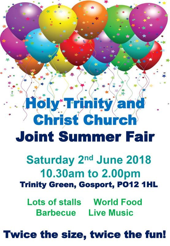 Joint Summer Fair 2018
