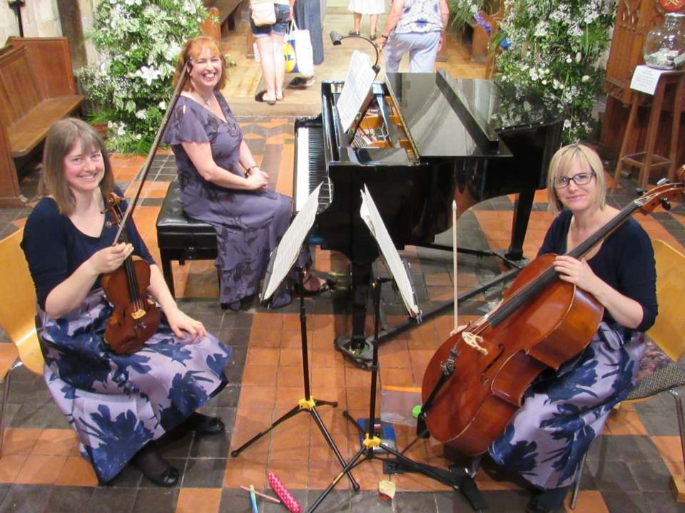 the kalore trio - holy trinity gosport